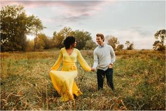 Melissa + Jay | Lake MacBride Engagement Session
