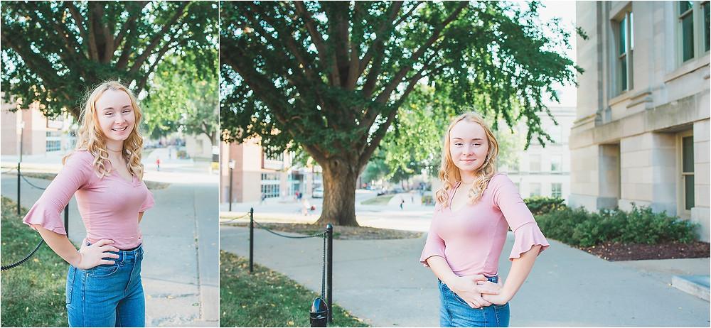 Iowa City Senior Photography