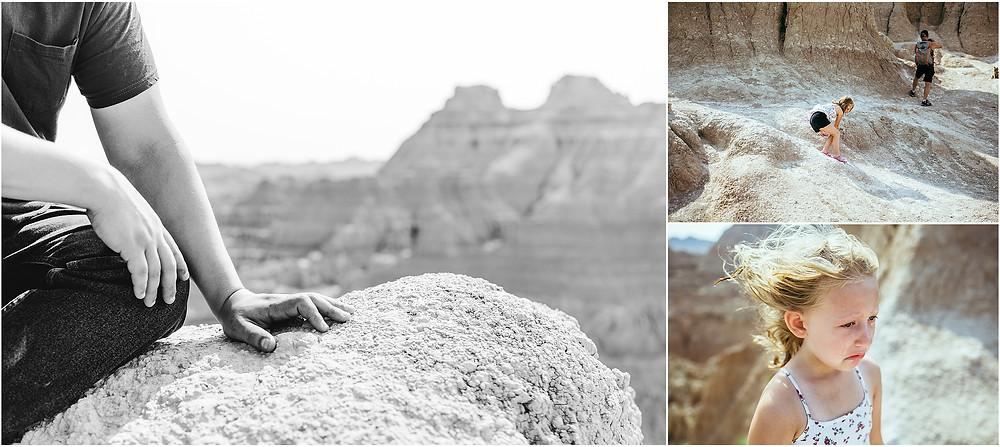 Iowa City Photographer travel Badlands National Park