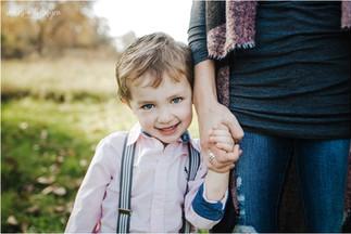 Walker Family | Fall Mini at Lake MacBride