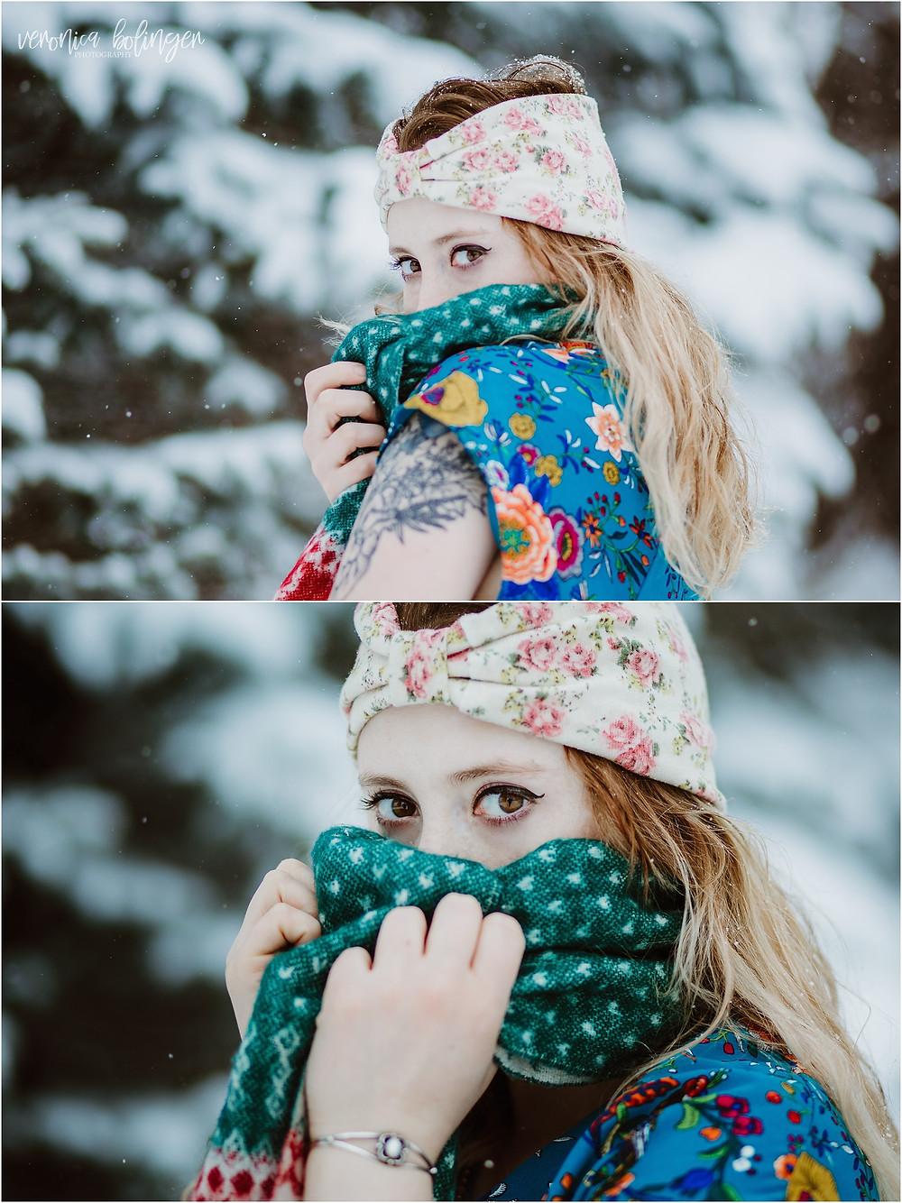 Iowa City Photographer, snowy day