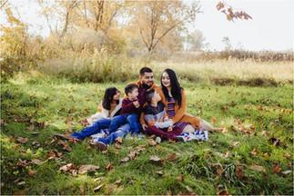 Mata Family | Fall Mini at Lake MacBride