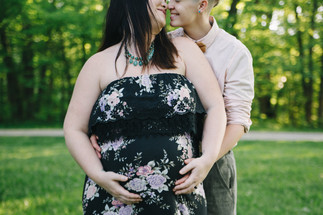 Angie + Molly | Iowa City Maternity Session