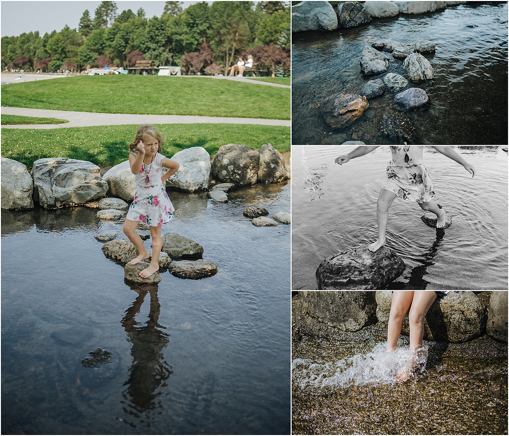 Iowa City Photographer travel Coeur d'Alene Lake