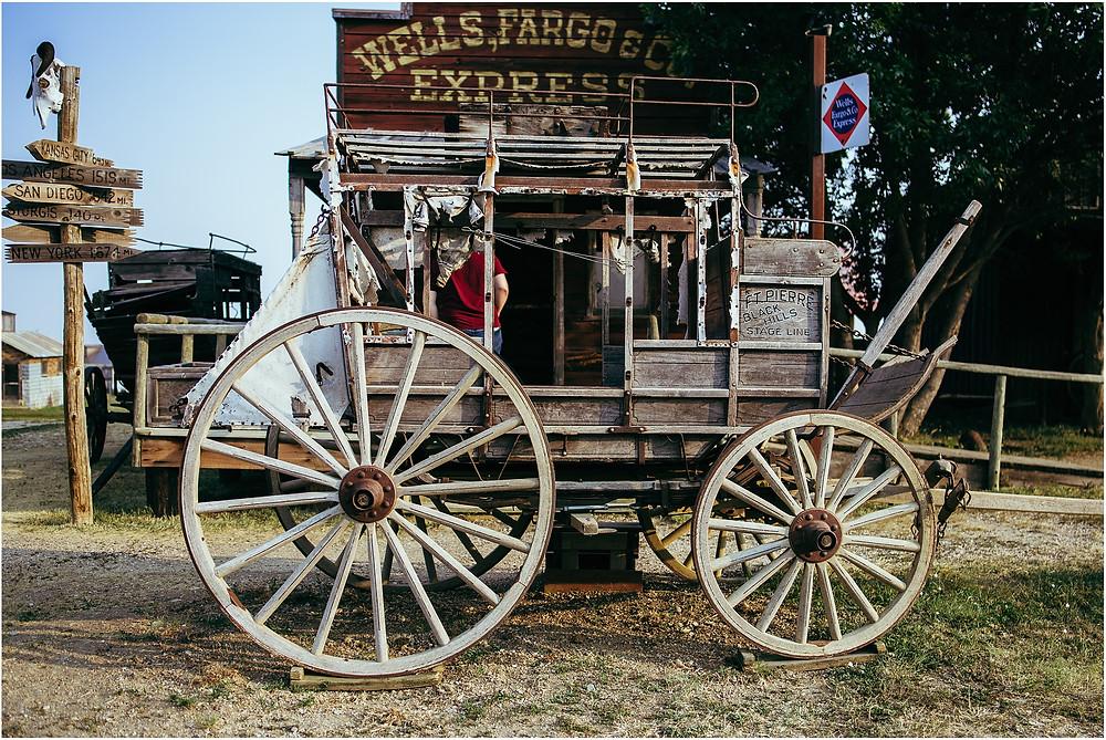 Iowa City Photographer travel photos 1880 town SD