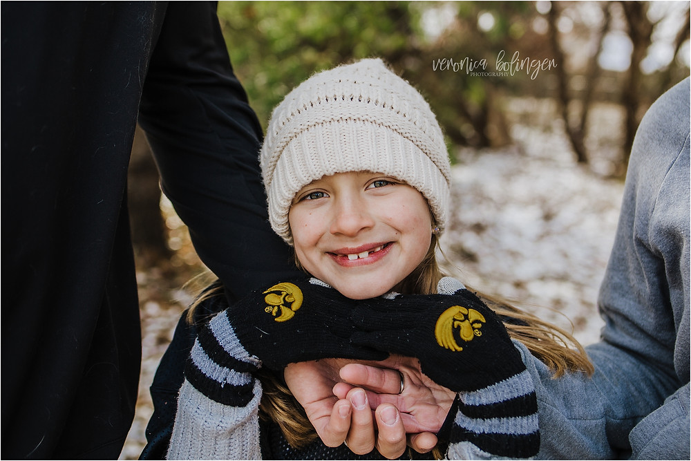 family photography Iowa City hawkeyes