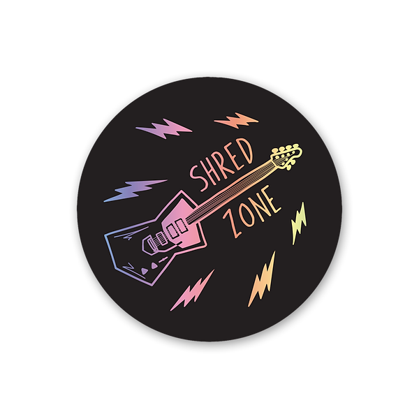 shred zone sticker - product photo.png