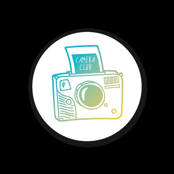 camera club - sticker - product photo.pn
