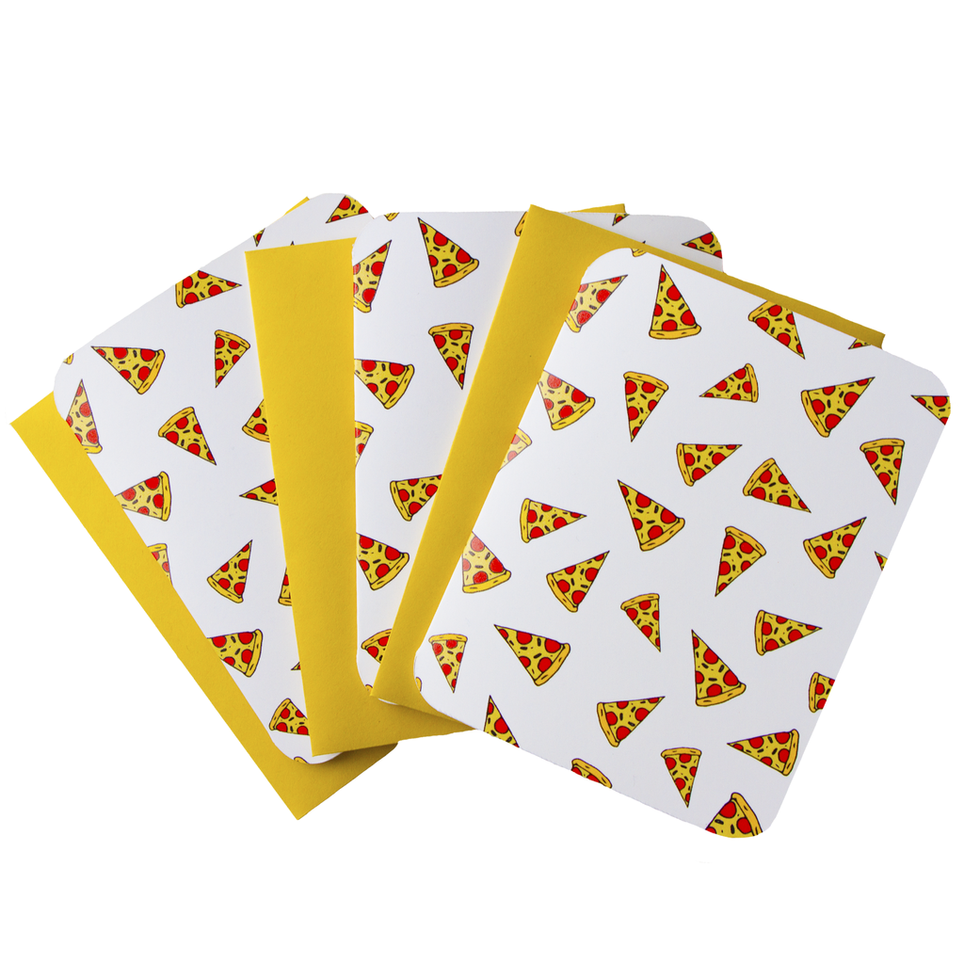 Pizza Notecards!
