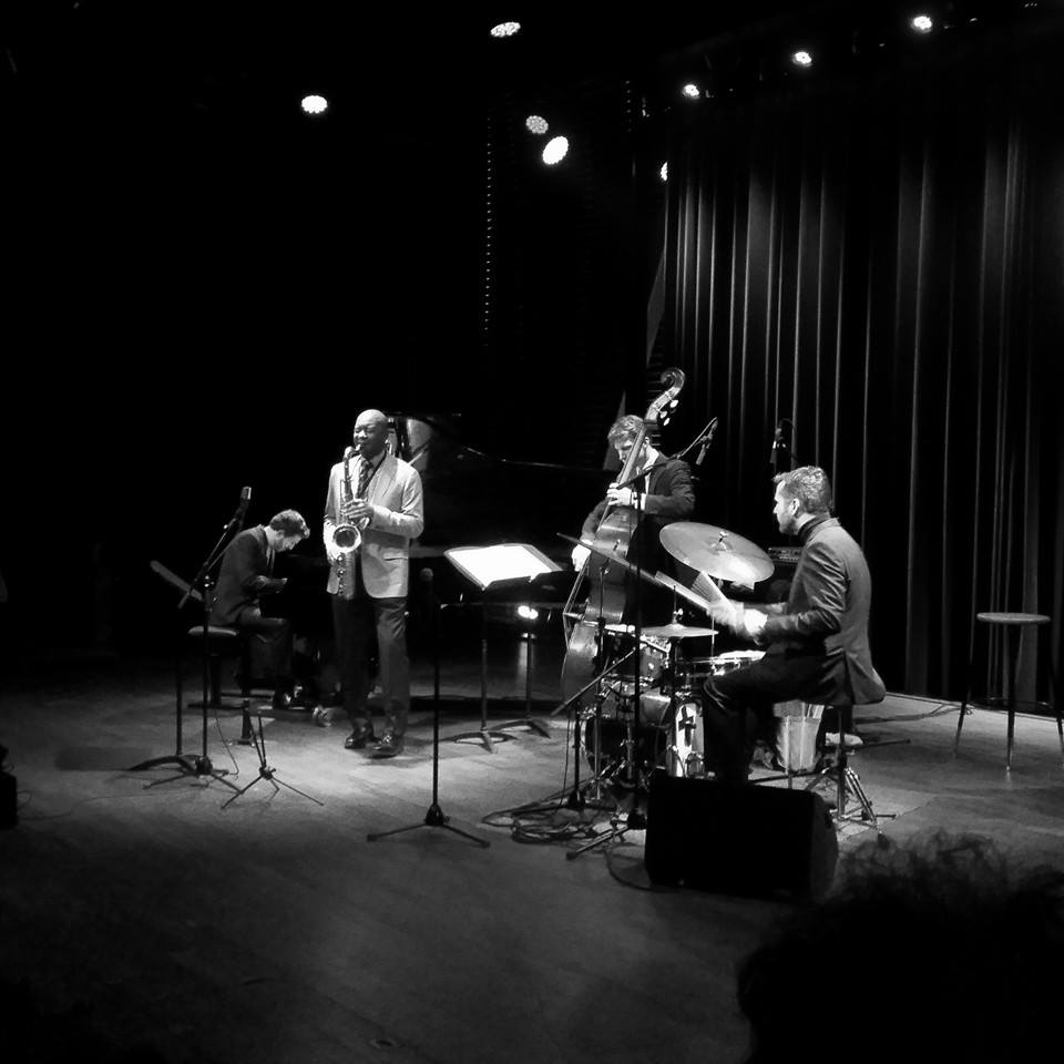 with Brandford Marsalis (Bimhuis)