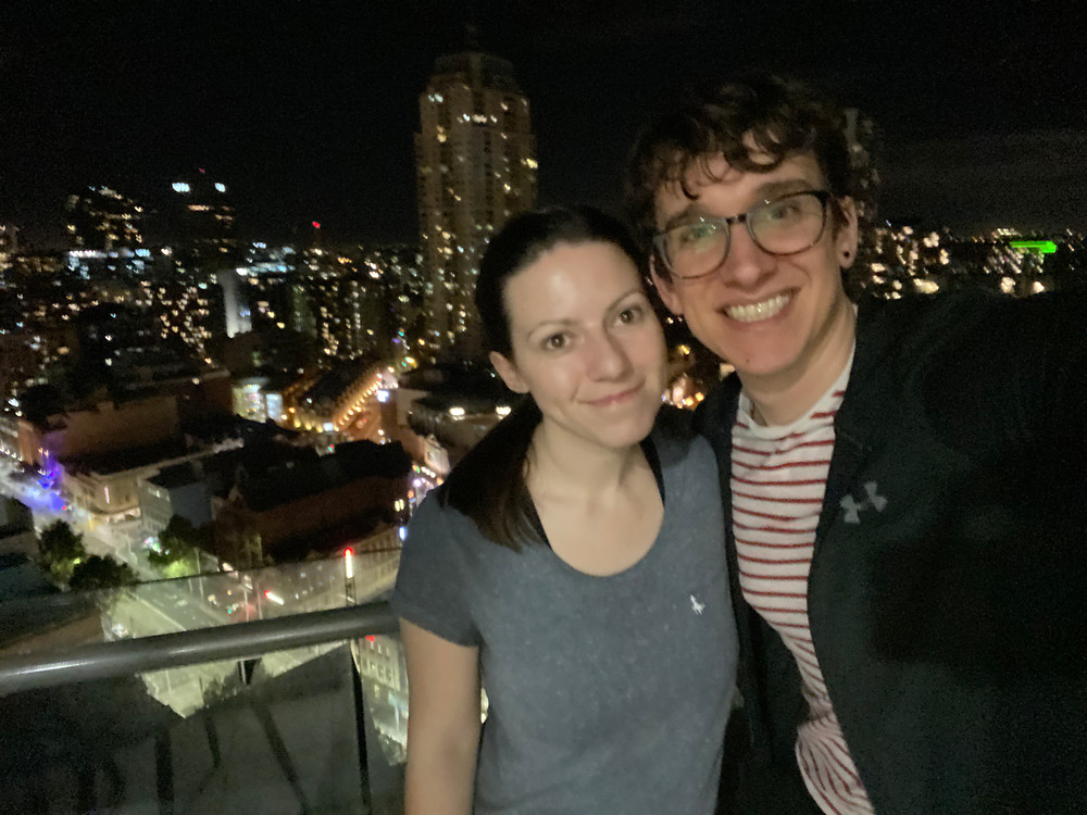 Arrival in Australia - James and his wife