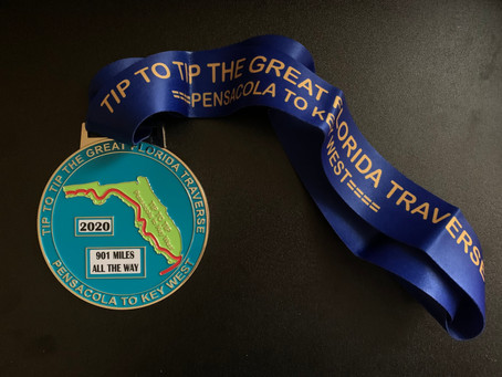 How I Ran a Virtual 901 Mile Ultra in the Summer and Fall of Covid 2020
