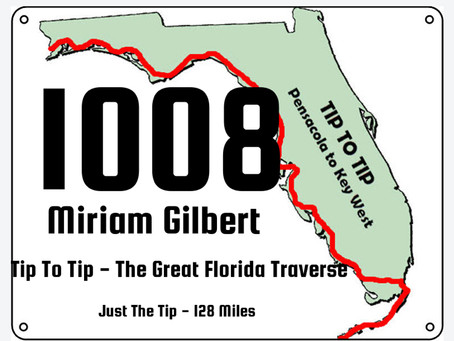 Running the Tip to Tip Great Florida Traverse 128 Mile Ultra: How Long Will It Take Me?