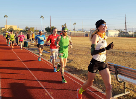 Camille Herron's First Pair of Nikes, Night Running, Toenails, and Desert Solstice