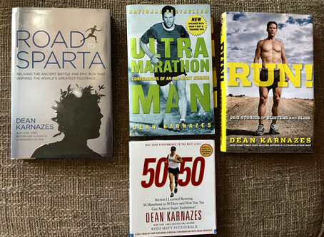 My Collection of Dean Karnazes's Books: A Review