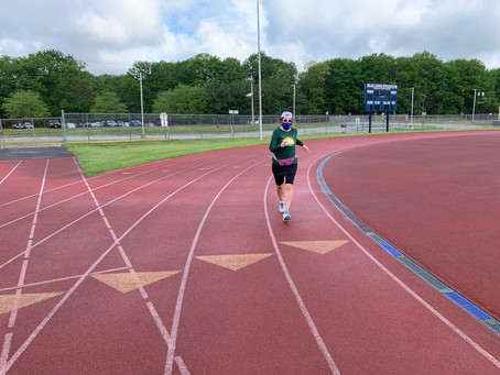 My D3 Virtual 50K Run Recap & Tips on How to Run A Solo Virtual Race of Any Distance on a Track