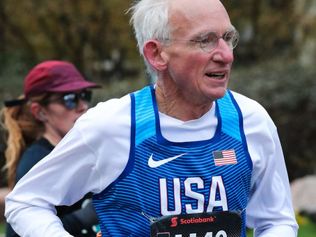 The Joy of Running Keeps Gene Dykes Pumped at 70 and Beyond