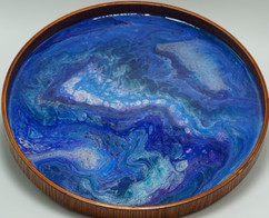 Fluid Art Drink Tray, Serving Tray