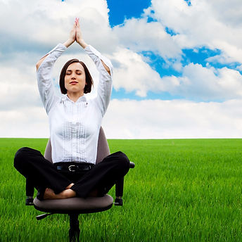 businesswoman-sitting-in-lotus-picture-i