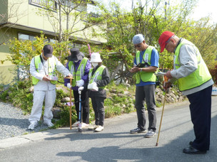 Les niveaux impressionnants de radio-contamination à Odaka, Minamisoma