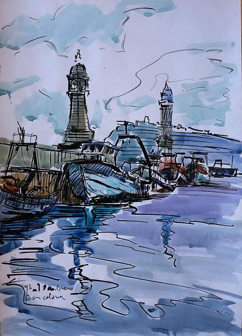 Torre del Rellotge - Moll de Pescadors