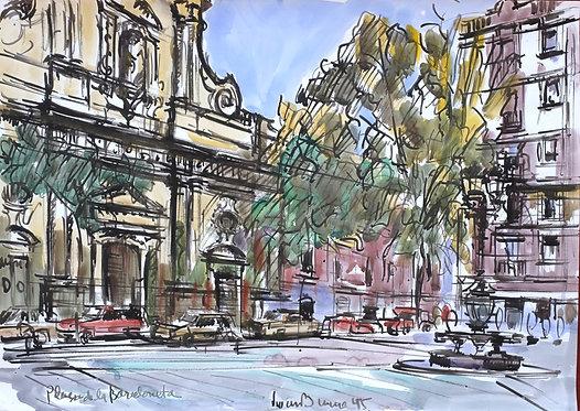 Plaça de Barceloneta