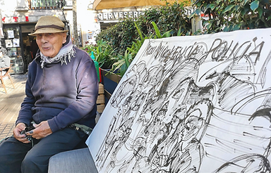 Joan Bueno Last Street Painter of Barcelona