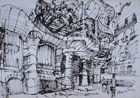 La Pedrera Tinta China #2