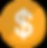 Símbolo del dólar 3D