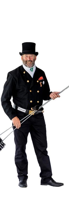 Rauchfangkehrer in Gala-Uniform