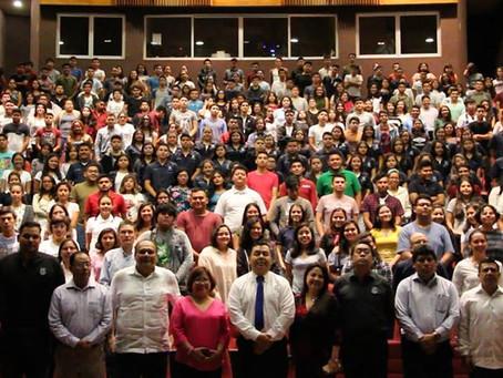 Bienvenida al ciclo escolar Agosto - Diciembre 2018, por el Dr. José Rodolfo Calvo Fonseca, Rector d