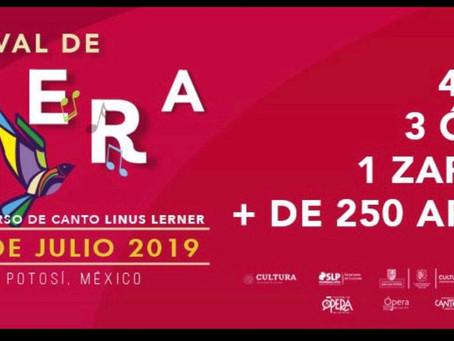 Chiapaneco representará al estado en el 4to Festival de Ópera