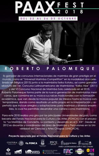 Semblanza individual - Roberto Palomeque