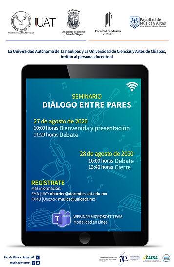 Diálogo entre pares; invitación
