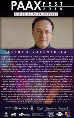 Semblanza individual -Arturo Valenzuela