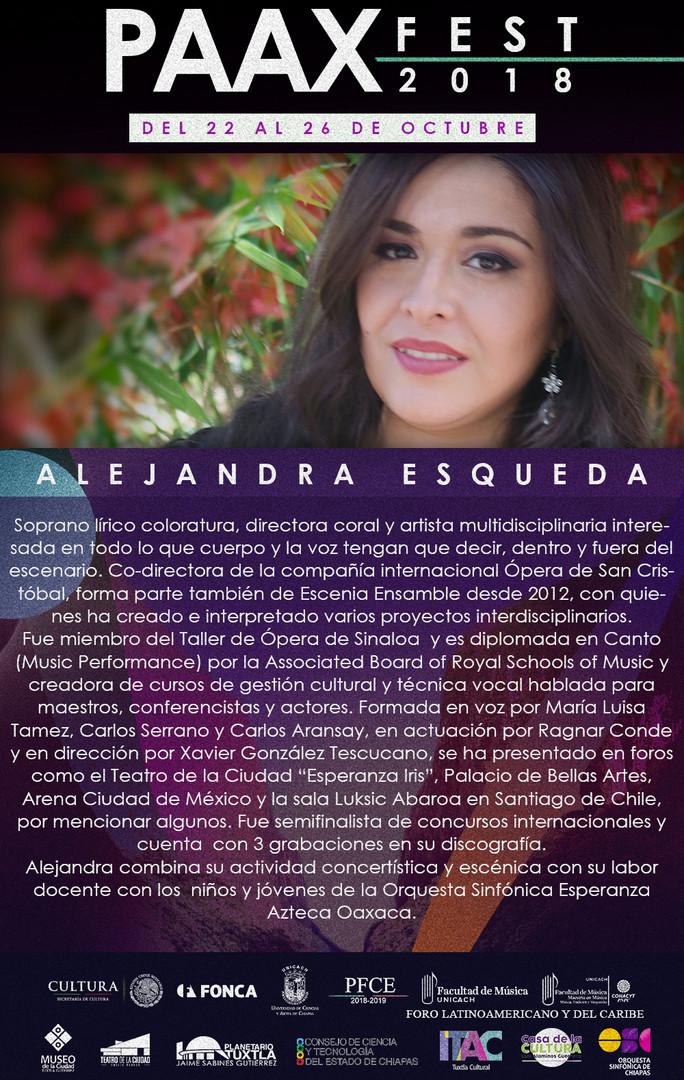 Semblanza individual -Alejandra Esqueda.