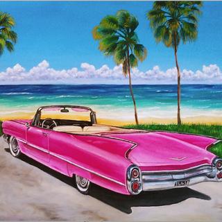 """Florida Pink Cadi"""