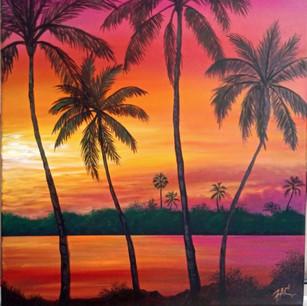 """Orange Sunset"""