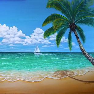 """Sailing In Paradise"""