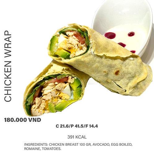 Chicken Wrap 391 Kcal