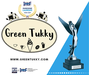 GREEN TUKKY Récompensé pour son concept