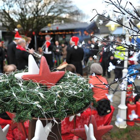 Blickfang Weihnachtsmarkt