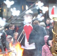 Stimmung auf dem Weihnachtsmarkt