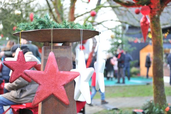 Dekoration Weihnachtsmarkt