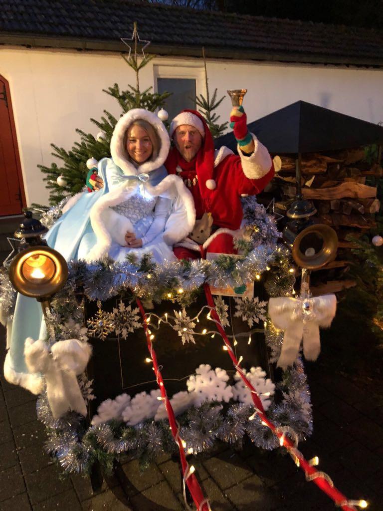 Eisprinzessin & Weihnachtsmann