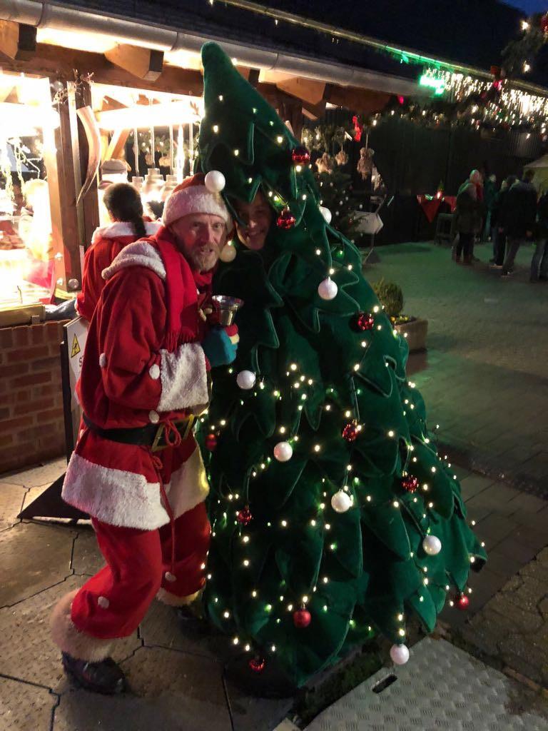 Duett vom Nikolaus und Tannenbaum