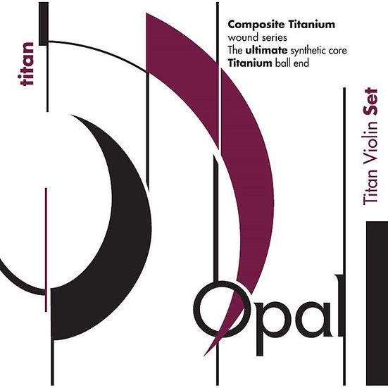 Opal Titan Violin String Set 4/4