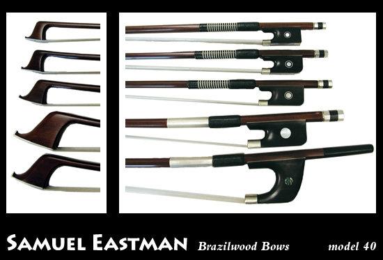 Samuel Eastman BA40 Brazilwood Viola Bow