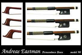 Andreas Eastman BC90 Pernambuco Cello Bow