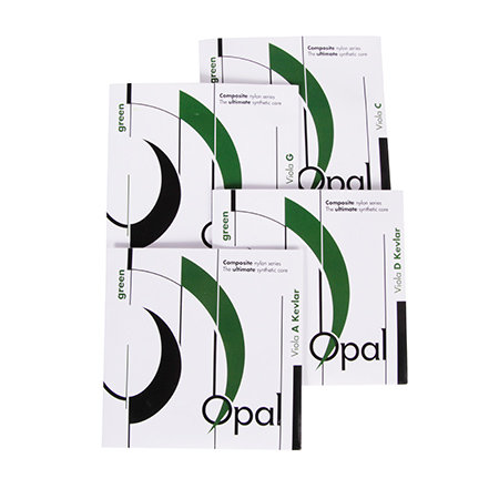 Opal Green Viola String Set (All Sizes)